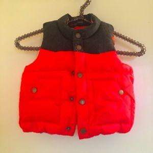 EUC Baby Gap Puffer Vest